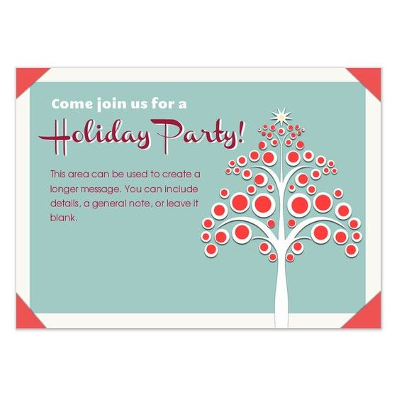7 Excellent Office Party Invitation Email Templates | neabux.com