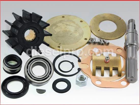 Water Pump Repair Kit   Detroit Diesel 6V53, 6V71, 6-71, 6V92, 4 ...