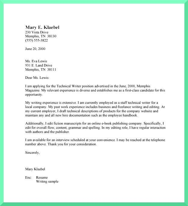 7 best Sample Cover Letters images on Pinterest | Cover letter ...