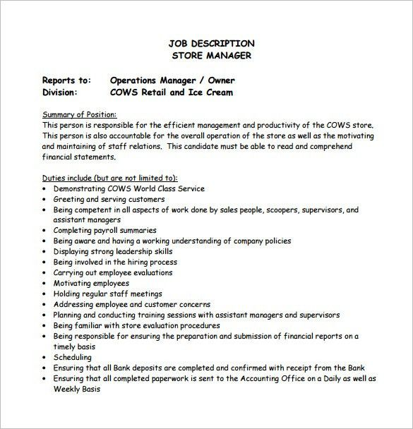 Operation Manager Job Description. Yard Operations Manager Resume ...