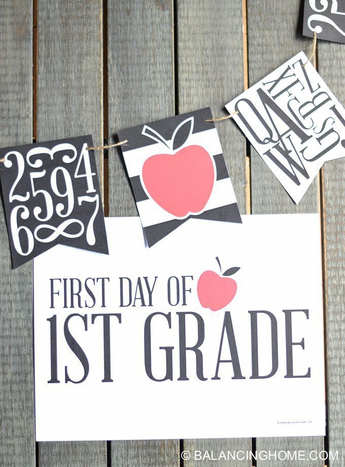 Get 20+ School signs ideas on Pinterest without signing up | 1st ...