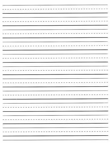 Writing Template. Printable Oreo Writing Paper | First Grade ...