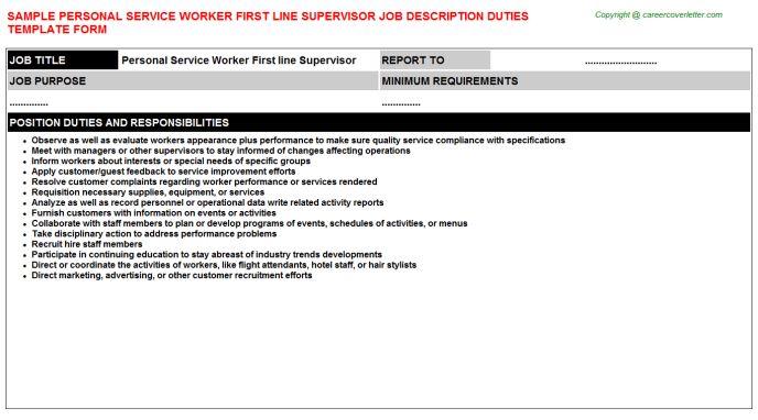 Personal Shopper Job Descriptions