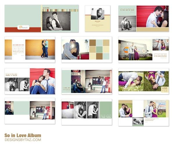 NEW Albums & Image Box Templates » Designs by Taz: Identity and ...