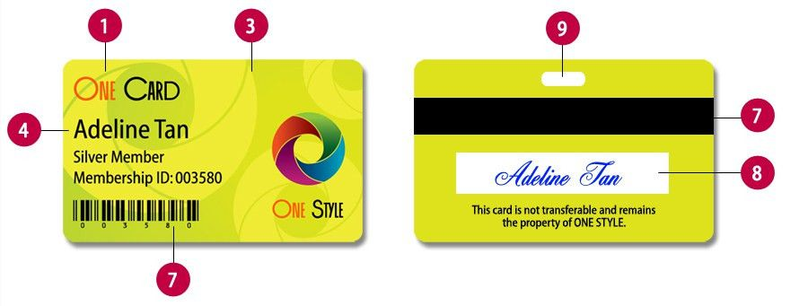 Design - Singapore Membership Card Printing | PVC Card | Plastic ...