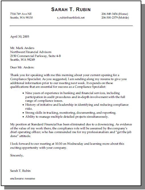 Cover Letter Opening Lines - My Document Blog