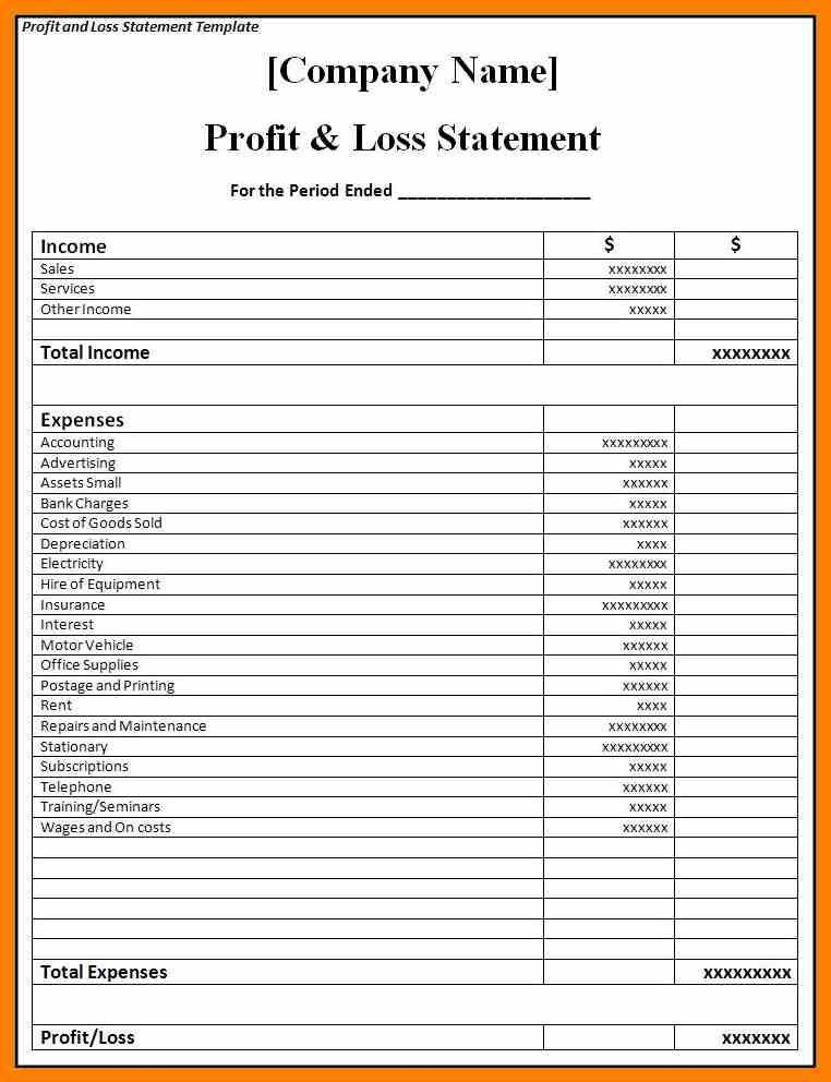 Statement Format. Example Income Statement Simple Income Statement ...