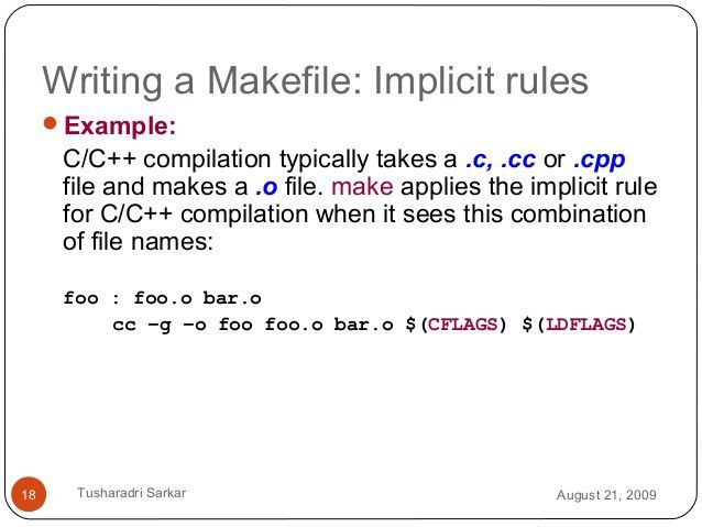 Introduction to Makefile