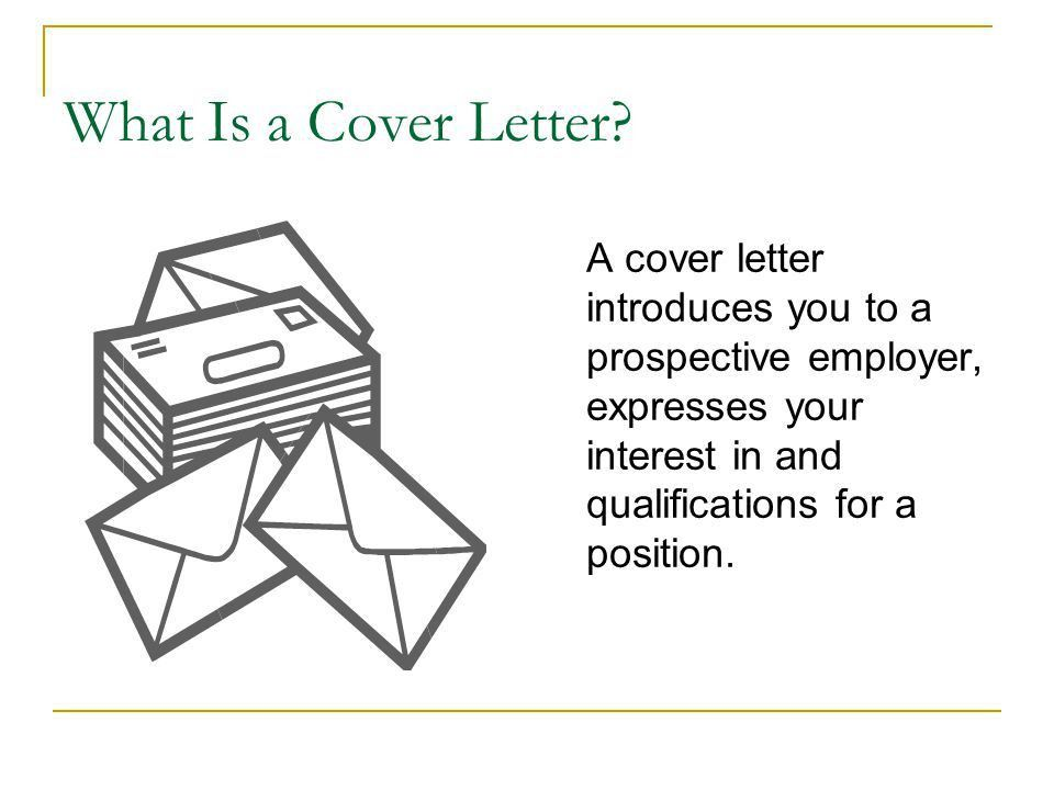 Cover Letters Project Mentor New Jersey City University - ppt download