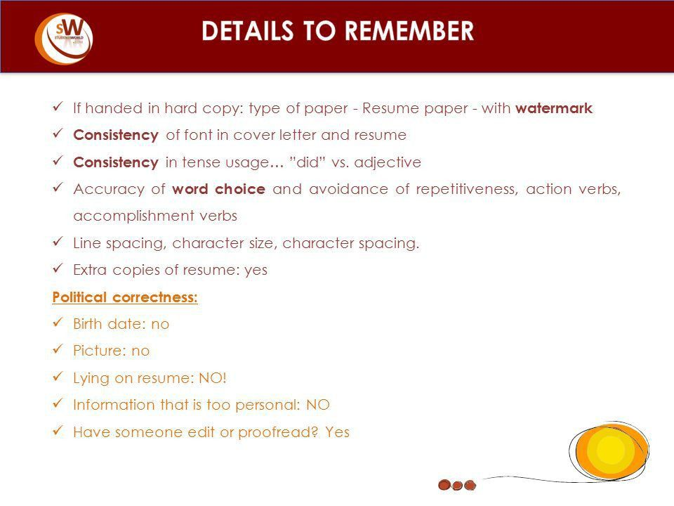 Type Of Resume Paper. how to write up a resume. resume for ...
