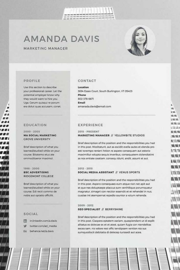100+ Bold Resume Template -Strong Bold Resume Template Use With ...