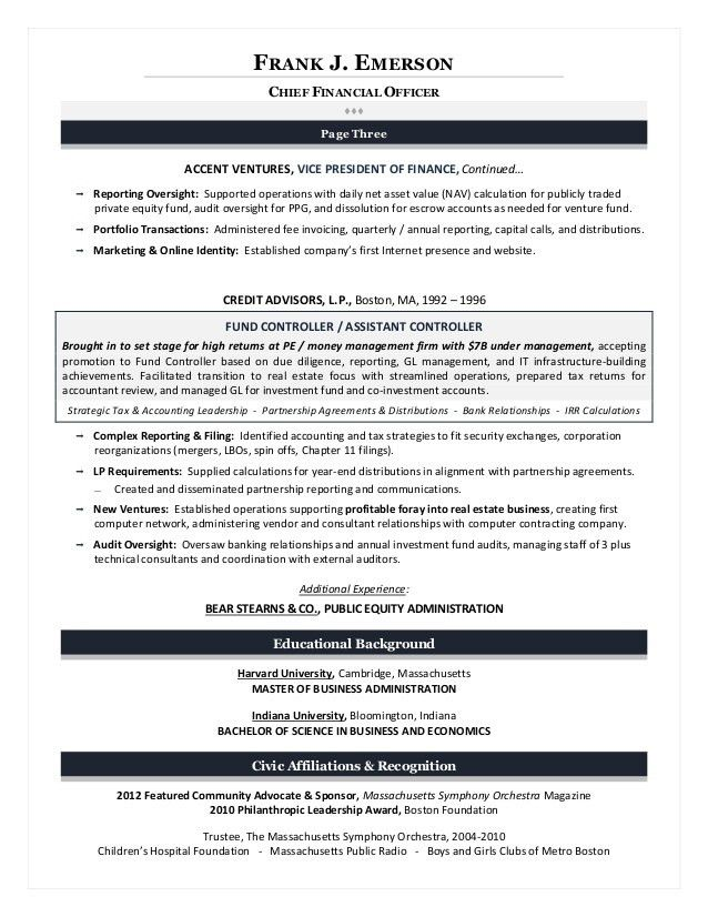 Executive Resume Writing for Results !