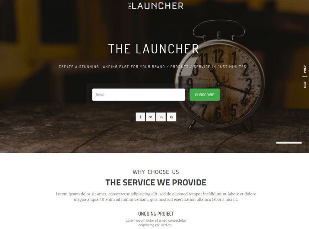 17+ Best FREE WordPress Landing Page Themes and Templates 2017