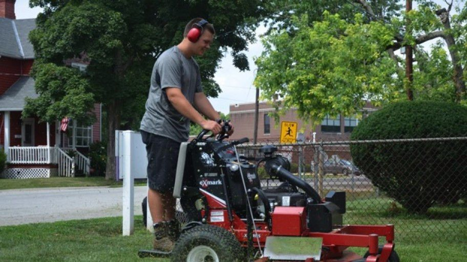 Teen Learns Valuable Lessons Operating Lawn Care, Mower ...
