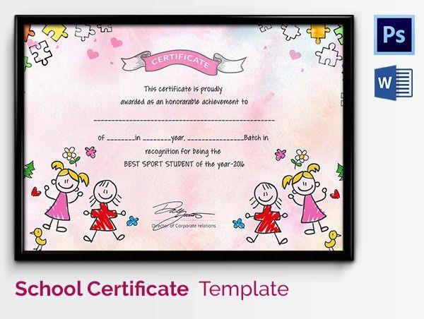 Sample Certificates For Kids. Good-Behavior-Printable-Certificate ...