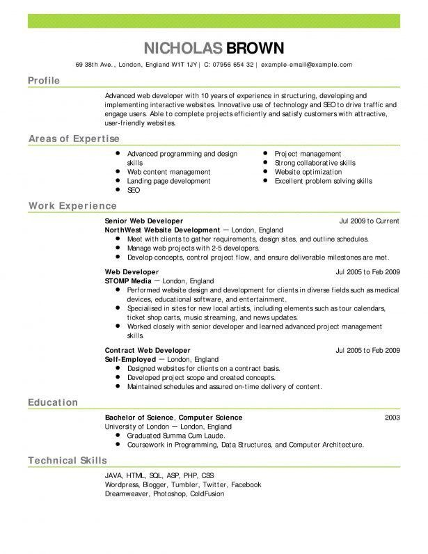 Resume : Gapbuster Client Sample Resume Receptionist Cover Letter ...