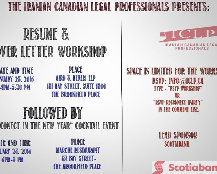 Events – Iranian Canadian Legal Professionals (ICLP)