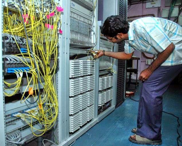 Inside Server Room | ALLIANCE BROADBAND USER