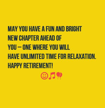 The 40 Happy Retirement Wishes ,Quotes and Images | WishesGreeting