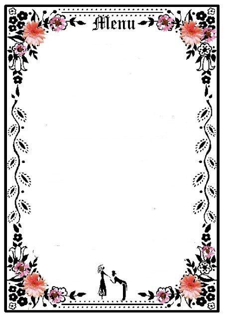 6 Best Images of Printable Blank Restaurant Menus - Free Printable ...