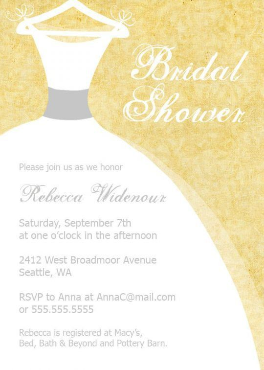 bridal shower invitation | Invitation Ideas