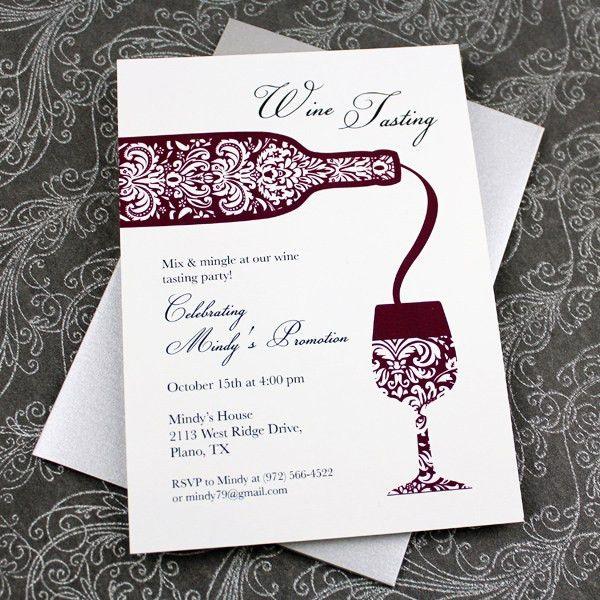 Wine Tasting Invitation Template – Download & Print