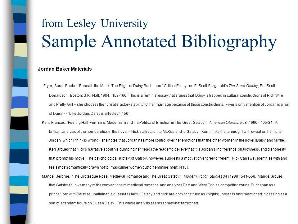 What Is An Annotated Bibliography? - ppt video online download