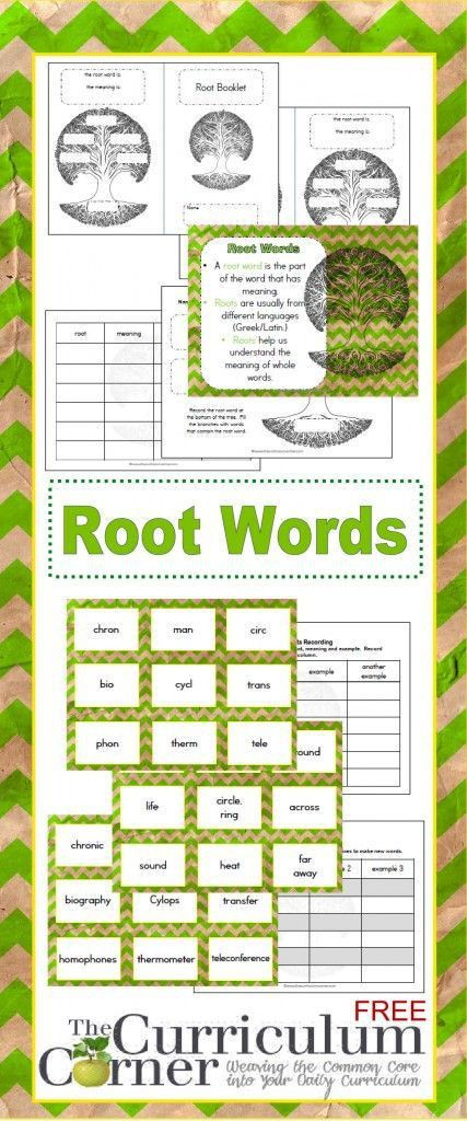 Best 25+ Root words ideas on Pinterest | Roots part 3, Year 6 ...