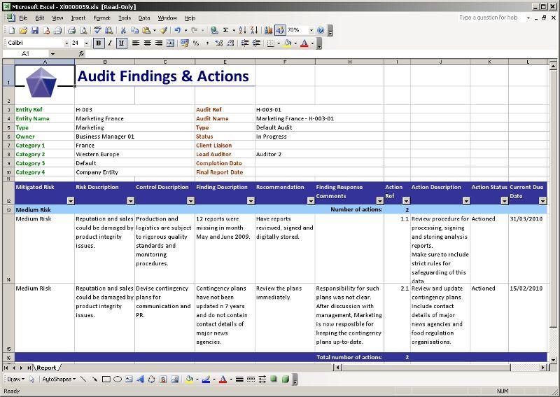PAWS: Pentana Audit Work System