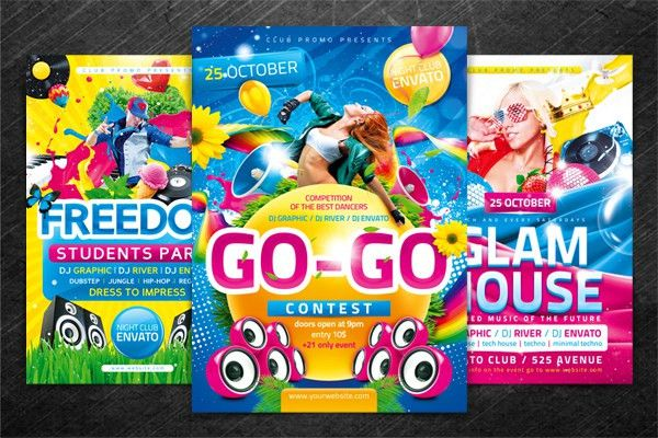 Dance Contest Flyer by 4ustudio | GraphicRiver