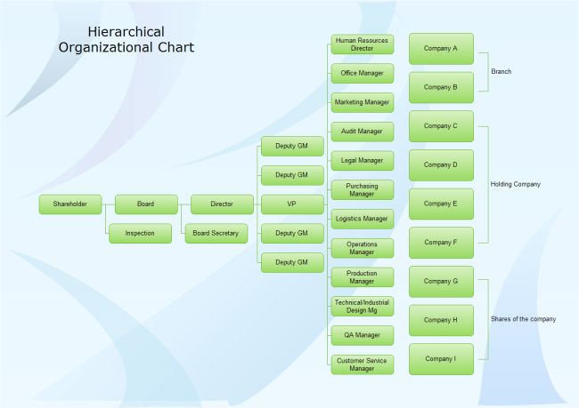 Software Company Org Chart | Free Software Company Org Chart Templates