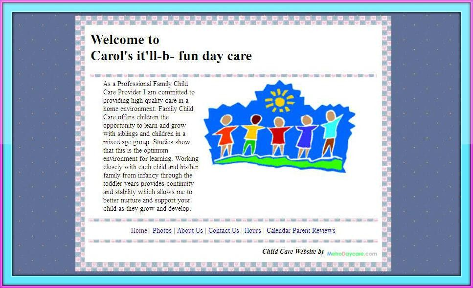 Pictures family home daycares - Home pictures