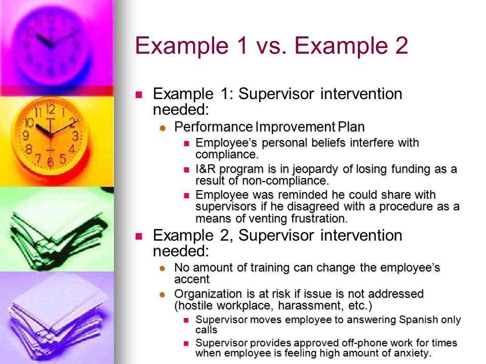 Personal Improvement Plan Examples   Blank.csat.co
