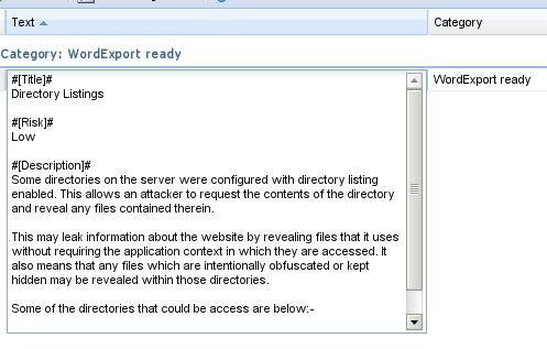 Dradis Framework GuidesDradis Framework Guides: WordExport report ...