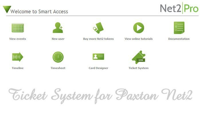 Ticket System Software for Paxton Net2 (It's FREE!)   Daniel ...