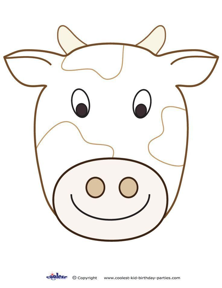 Best 25+ Cow mask ideas on Pinterest | Cow craft, Farm animal ...