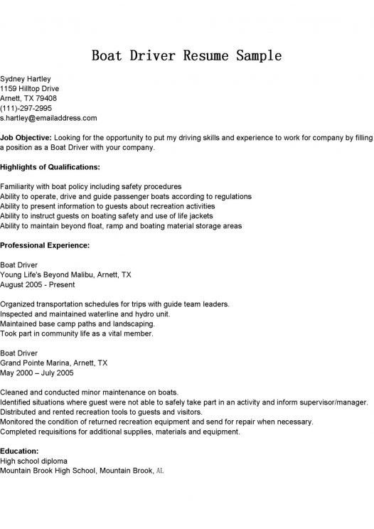 Boat Repair Sample Resume Unforgettable Diesel Mechanic Resume
