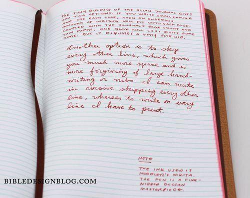 The Allan Journal Rediscovered — Bible Design Blog