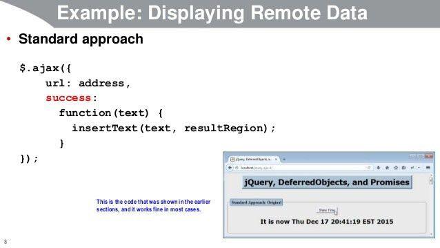 JavaScript and jQuery Programming Tutorial: jQuery Ajax Support: Usin…