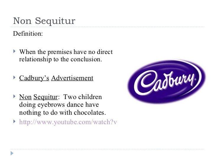 Fallacies in advertisements