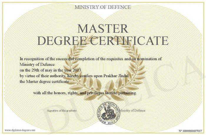 Master-degree-certificate