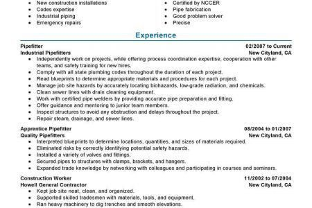 welding resume unforgettable welder resume examples to stand out