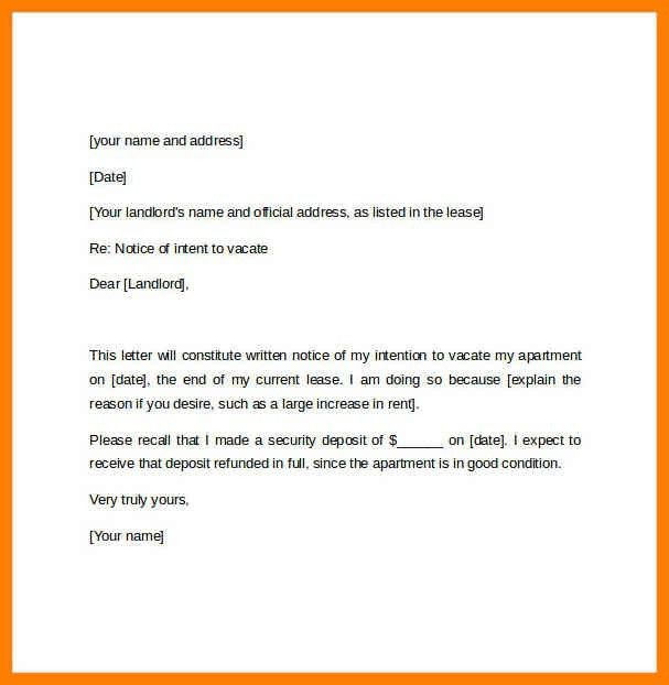 11+ 60 days notice letter | reference format