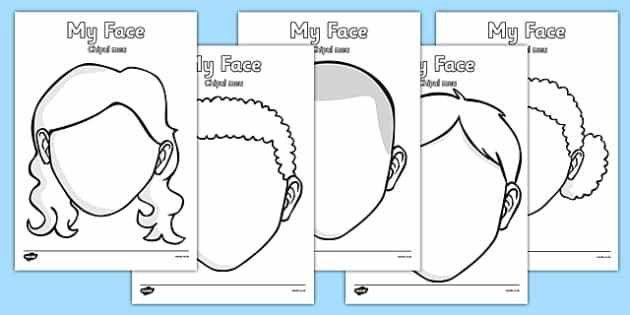 Blank Faces Templates Romanian Translation   Romanian, Face  Blank Face Templates