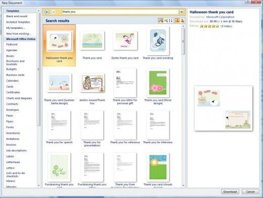 How to Make Cards on Microsoft Word | HubPages