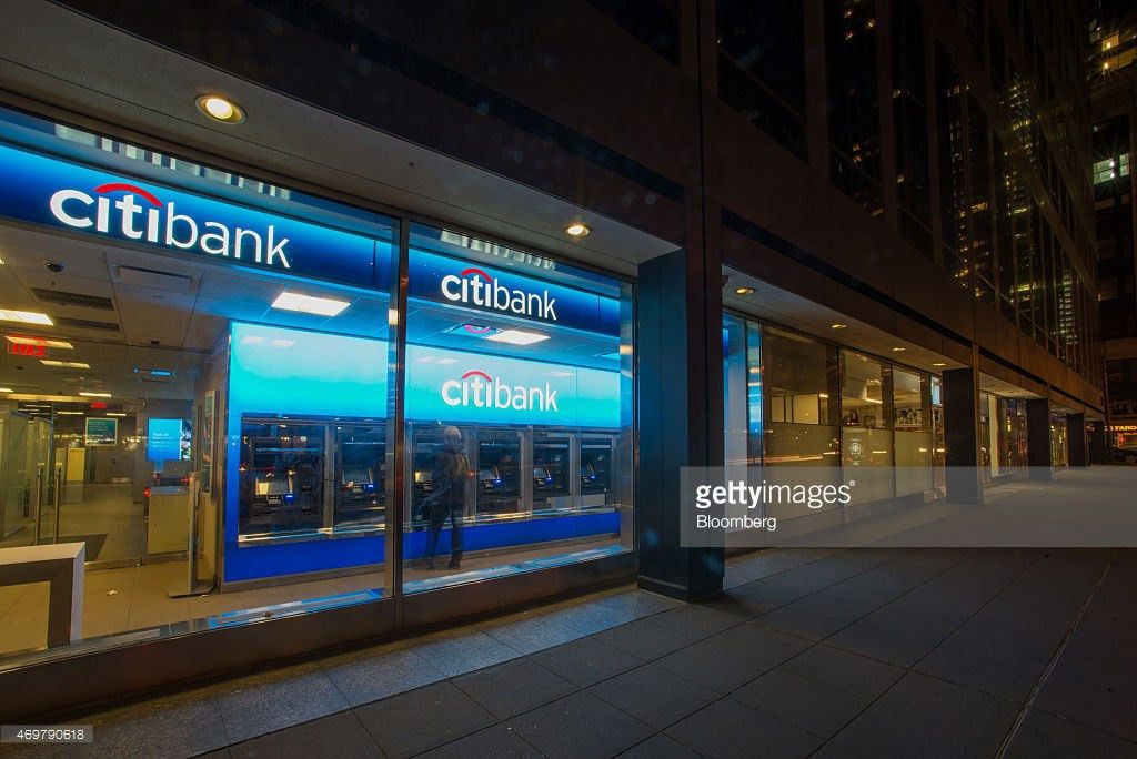 Citigroup Inc. Bank Branches Ahead Of Earnings Figures Photos and ...