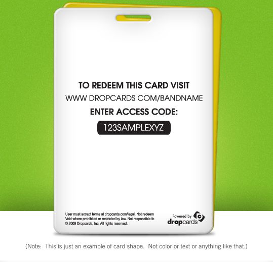Download a Template | Dropcards : The Industry Leader In Custom ...