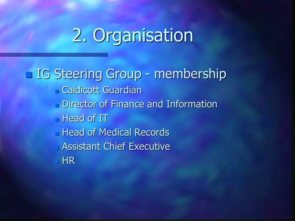 Working with Information Governance - ppt download