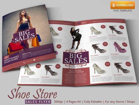 Sales Flyer Template | Modern Design on Behance