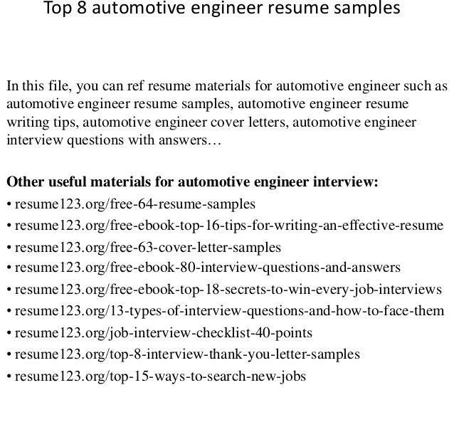 Download Car Test Engineer Sample Resume | haadyaooverbayresort.com